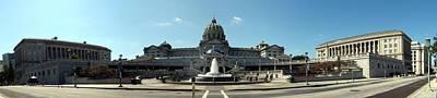 Pennsylvania State Capitol Panorama Art Print
