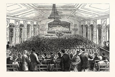 Pennsylvania Drawing - Pennsylvania The Pan-presbyterian Council by American School