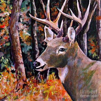Pennsylvania Whitetail Art Print by Philip Kram