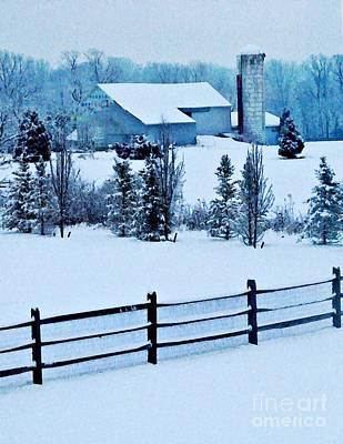 Pennsylvania Winter Art Print