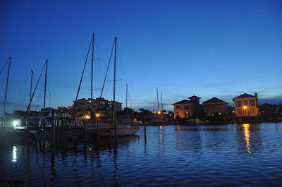 Photograph - Pensacola Bay Florida by Vonda Barnett