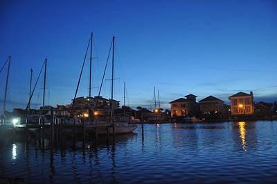 Photograph - Pensacola Bay Florida by Vonda Barnett