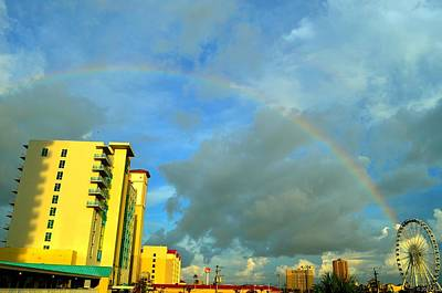 Photograph - Pensacola Beach 360 Rainbow by Jeff at JSJ Photography