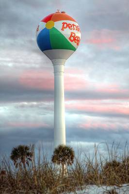 Photograph - Pensacola Beach Water Tower by JC Findley