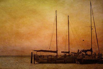Pensacola Harbor Art Print by Kim Hojnacki