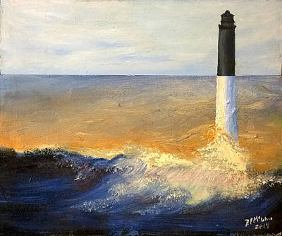 Painting - Pensacola Lighthouse by David McGhee