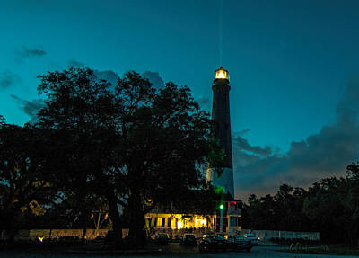 Photograph - Pensacola Lighthouse by Dorothy Cunningham