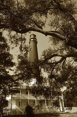 Pensacola Lighthouse Art Print by Skip Willits