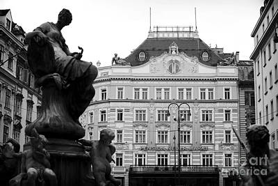 Photograph - Pension Neuer Markt by John Rizzuto