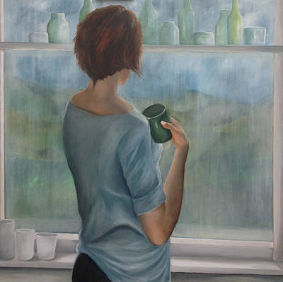Painting - Pensive by Neil Kinsey Fagan