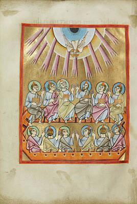 Pentecost Unknown Regensburg, Bavaria, Germany Art Print by Litz Collection