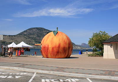 Photograph - Penticton British Columbia by Betty-Anne McDonald