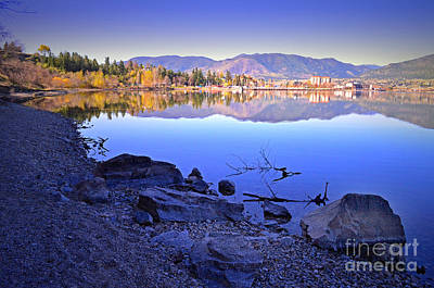 Photograph - Penticton Reflections by Tara Turner