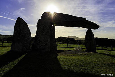 Photograph - Pentre Ifan Burial Chamber by Fran Gallogly