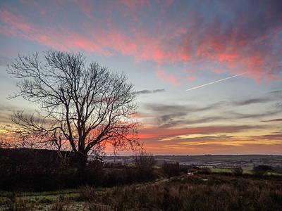 Photograph - Penultimate Irish Sunrise Of 2014 by James Truett