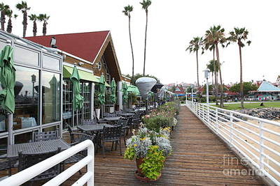Coronado Bay Photograph - Peohes Restaurant In Coronado California 5d24355 by Wingsdomain Art and Photography