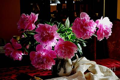 Photograph - Peonies by Galina Khlupina