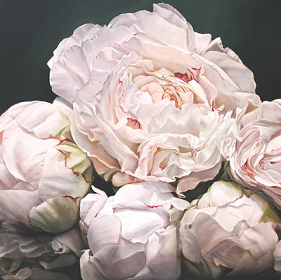 Painting - Peonies I by Thomas Darnell