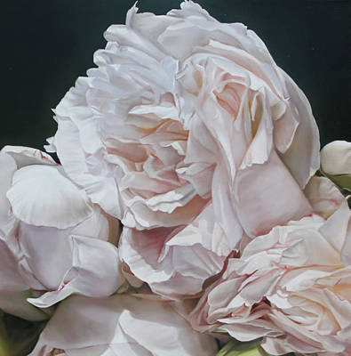Painting - Peonies II by Thomas Darnell