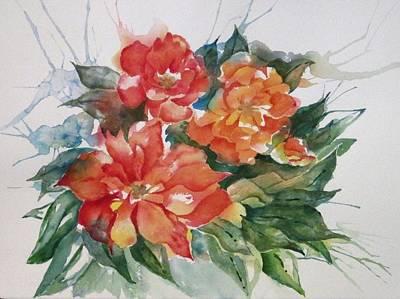 Painting - Peonies by Renee Goularte
