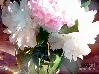 Photograph - Peonies Vase by France Laliberte