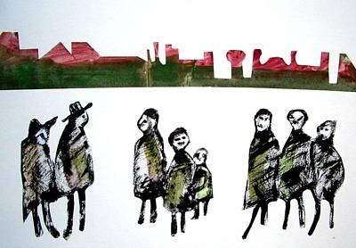 People 120913-5 Art Print by Aquira Kusume