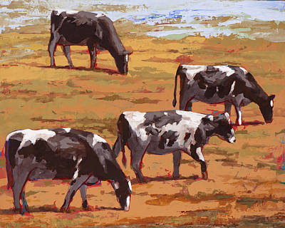 Painting - People Like Cows #10 by David Palmer