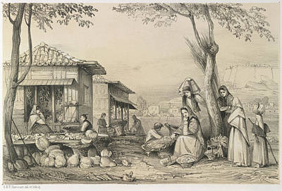 People Of Madeira Art Print by British Library
