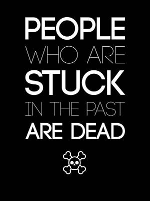 People Who Are Stuck Poster 2 Art Print by Naxart Studio