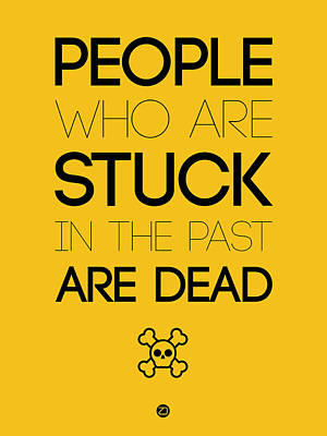 People Who Are Stuck Poster 3 Art Print by Naxart Studio