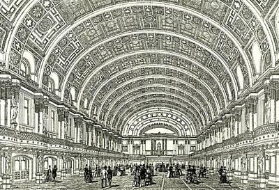 Us Open Drawing - Peoples Palace London U.k by English School