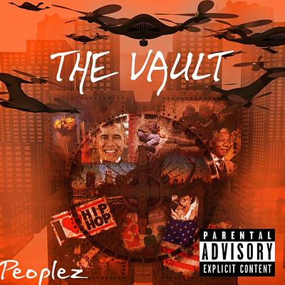 Digital Art - Peoplez-the Vault by Robert Sanders
