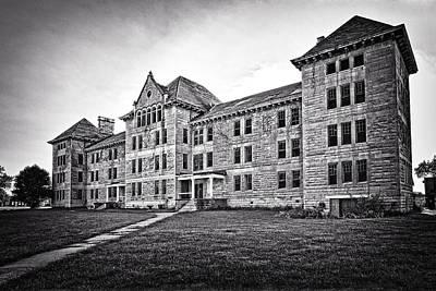 Photograph - Peoria State Hospital by Jeff Burton