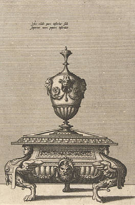 Pepper Drawing - Pepper And Salt Shaker, Johannes Or Lucas Van Doetechum by Johannes Or Lucas Van Doetechum And Hans Vredeman De Vries And Hieronymus Cock