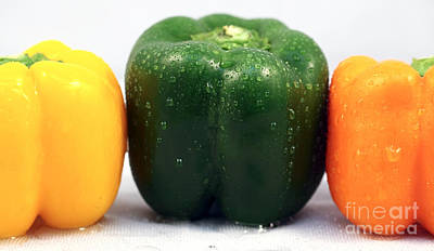 Photograph - Pepper Colors by John Rizzuto