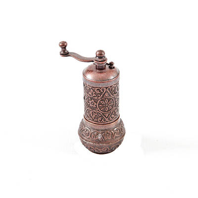 Old Grinders Photograph - Pepper Grinder by Tom Gowanlock