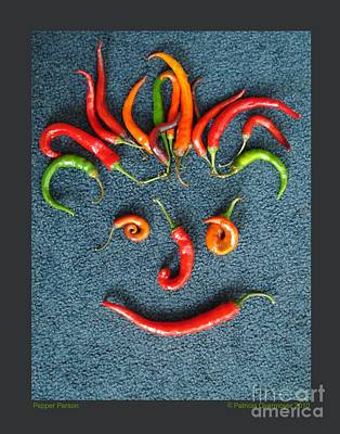 Art Print featuring the photograph Pepper Person by Patricia Overmoyer
