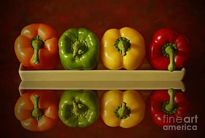 Pepper Pleasures Art Print by Inspired Nature Photography Fine Art Photography