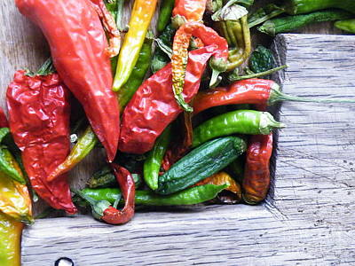 Photograph - Pepper Prep by Brian Boyle