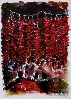 Painting - Pepper by Zaira Dzhaubaeva