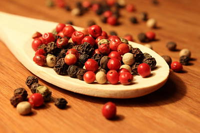 Photograph - Peppercorns by Joseph Skompski