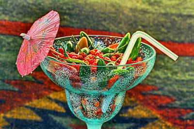 Art Print featuring the photograph Pepperita by Gary Holmes