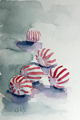 Painting - Peppermints by Marisa Gabetta