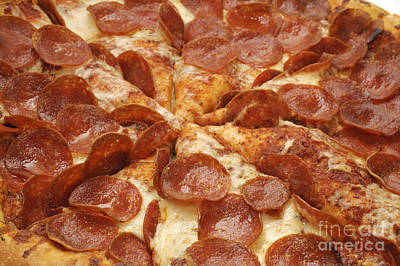 Photograph - Pepperoni Pizza 23 by Andee Design