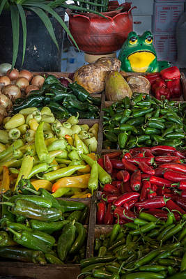Photograph - Peppers At The Farmer's Market by James Woody