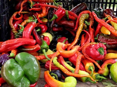 Photograph - Peppers by Brian Chase