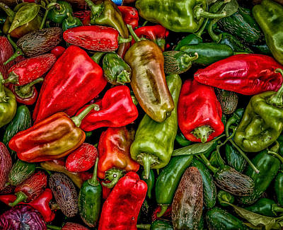 Photograph - Peppers by Fred LeBlanc