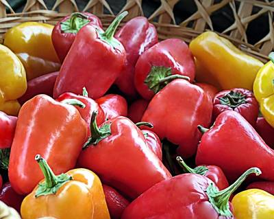 Photograph - Peppers by Janice Drew