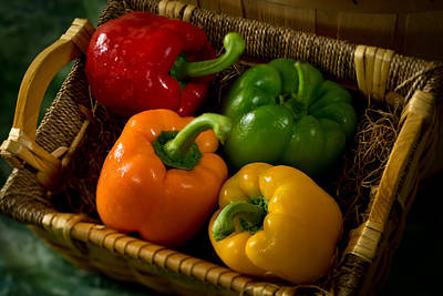 Photograph - Peppers by Matthew Pace