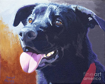 Pepper's Portrait Art Print by Margaret Sarah Pardy